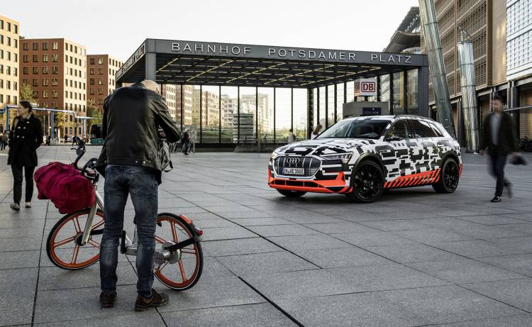 The Audi E Tron Prototype In Berlin