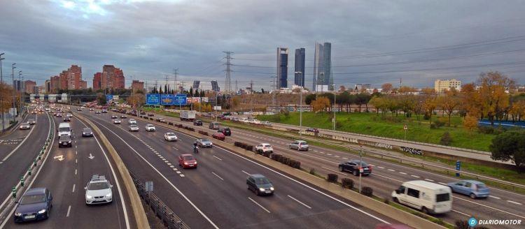 Como Circular Carril Adicional Reversible Contrario Madrid 01
