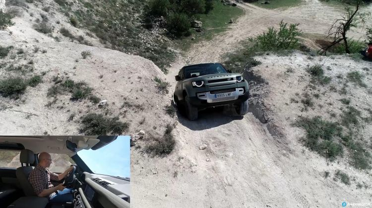 Comparativa 4x4 Jeep Wrangler Land Rover Defender 00002