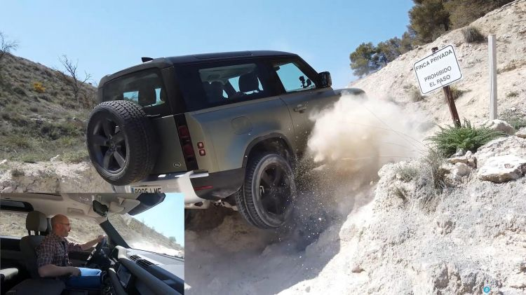 Comparativa 4x4 Jeep Wrangler Land Rover Defender 00004