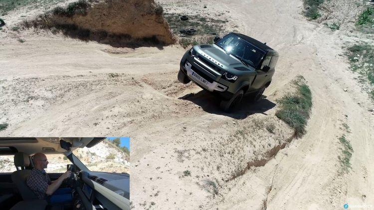 Comparativa 4x4 Jeep Wrangler Land Rover Defender 00014