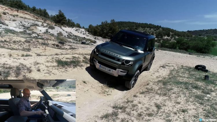 Comparativa 4x4 Jeep Wrangler Land Rover Defender 00017