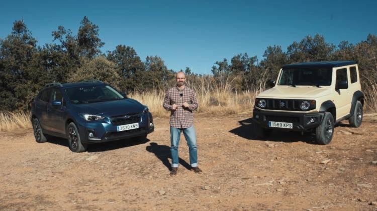 Comparativa 4x4 Subaru Xv Suzuki Jimny