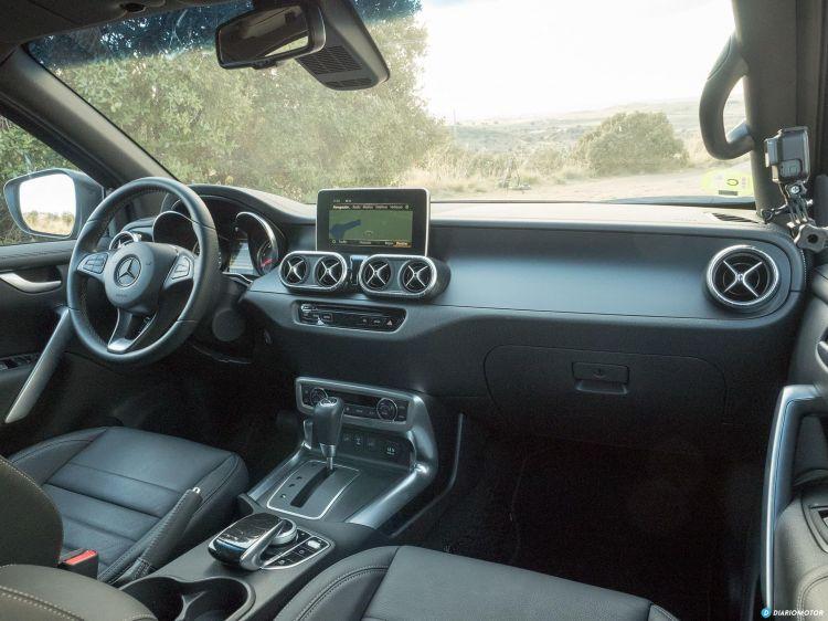 Comparativa 4x4 Toyota Land Cruiser Mercedes Clase X 00032
