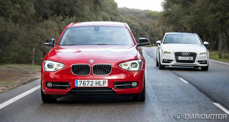 Audi A3, BMW Serie 1 y Mercedes Clase A
