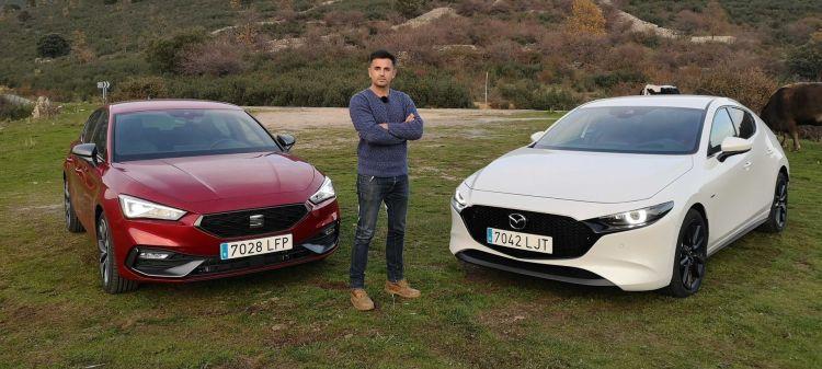 Comparativa Mazda3 Seat Leon