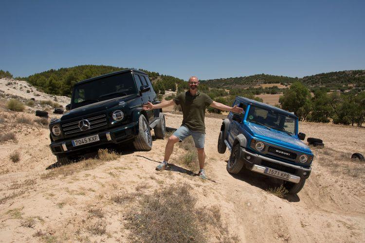 Comparativa Suzuki Jimny Vs Mercedes Clase G