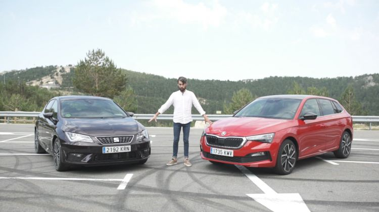Comparativa Video Skoda Scala Vs Seat Leon
