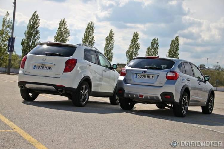 Subaru XV contra SsangYong, comparativa de SUV/crossover de nicho