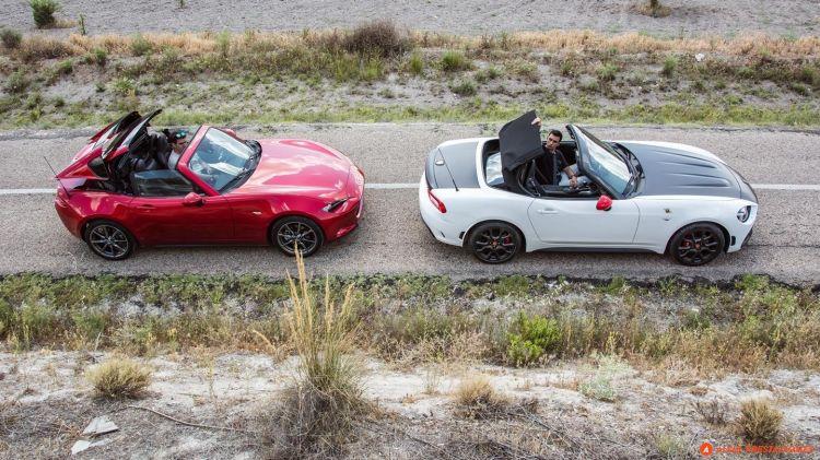 Comprar Coche Verano Mazda Mx 5 Fiat 124 Spider Capota