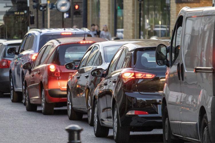 Comprar Diesel Segunda Mano 10 Anos Ciudad Trafico Atasco