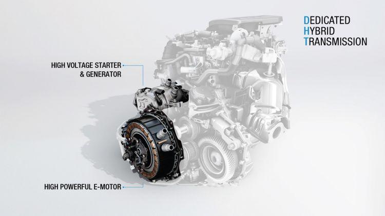 2018 Moteur Hybride Dht E Tech