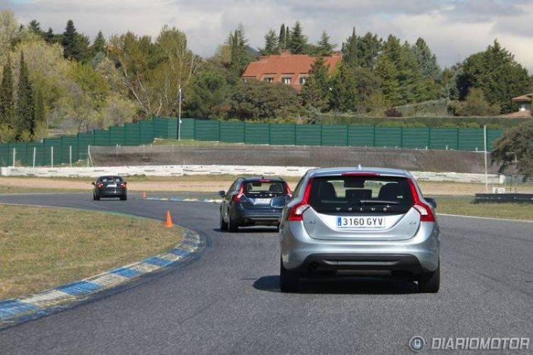 Jornadas de Conducción Segura Volvo en el Circuito del Jarama (I)