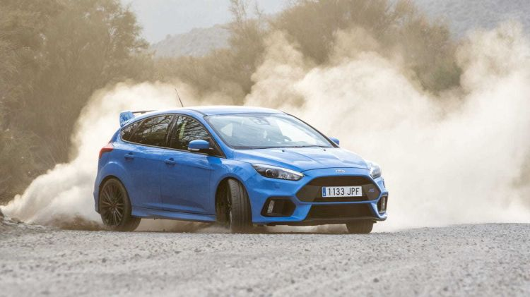 Conduccion Temeraria Ford Focus Rs
