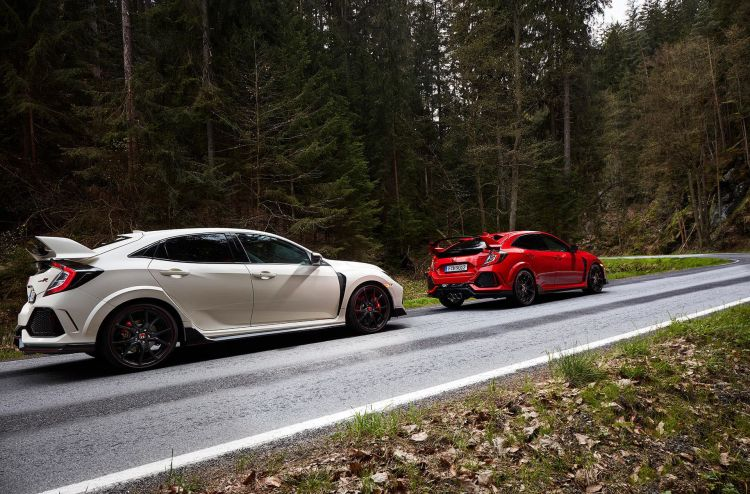 Conduccion Temeraria Honda Civic Type R