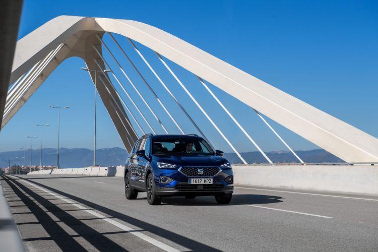 Conducir Con Viento Viaducto Seat Tarraco