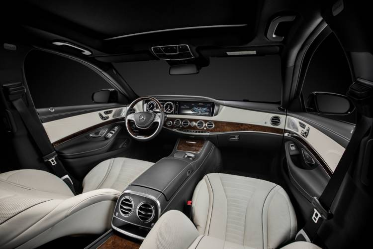 Mercedes-Benz Clase S, interior