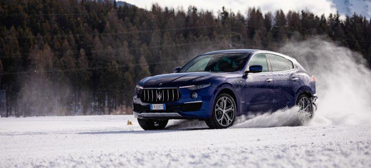 Consejos Conducir Nieve Hielo Frio Invierno Maserati Levante Portada