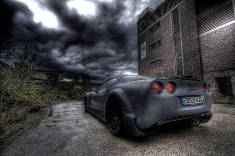 Corvette C6 BlackForceOne
