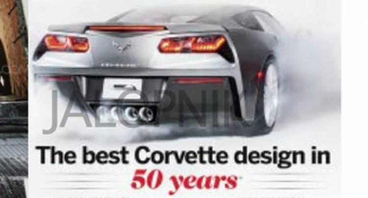 Stingray ha vuelto: el Corvette C7 ya se deja ver en imágenes filtradas