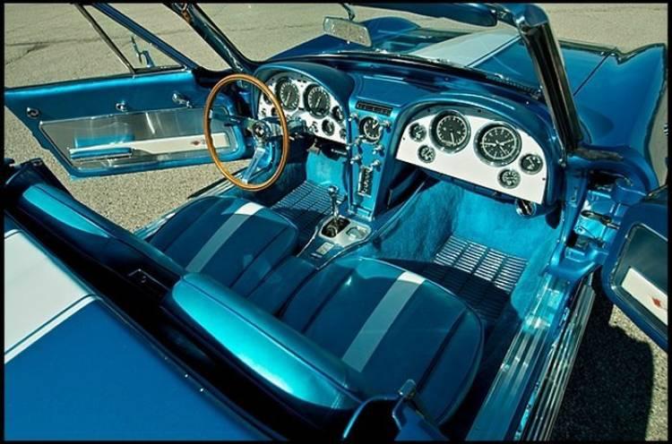 A subasta el 1963 Corvette Stingray del gran Harley J. Earl