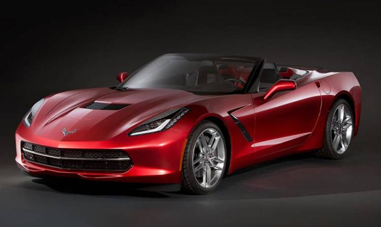 Corvette Stingray Convertible 2014