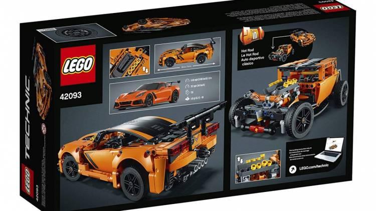 Corvette Zr1 Lego 03