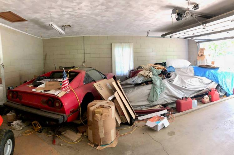 Countach Barn Find 5