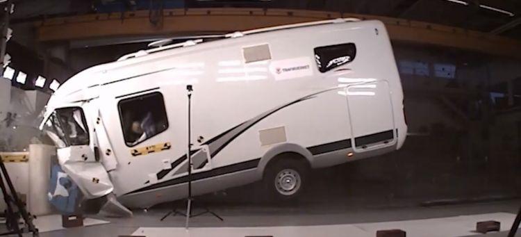 Crash Test Autocaravana