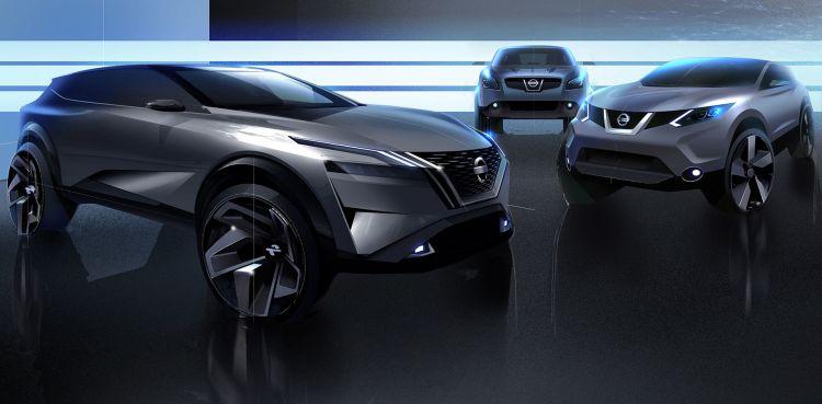 Crossover Nissan Qashqai Generaciones 2