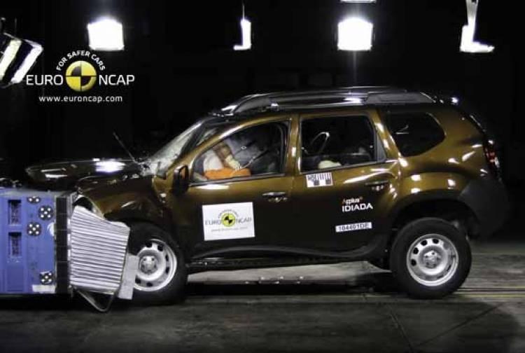 Dacia Duster EuroNCAP