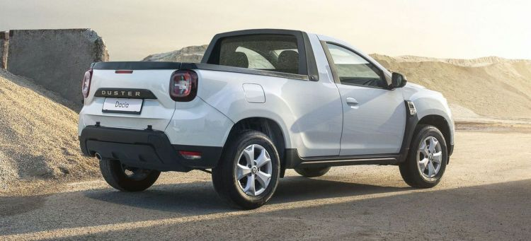 Dacia Duster Pick Up 2021 P