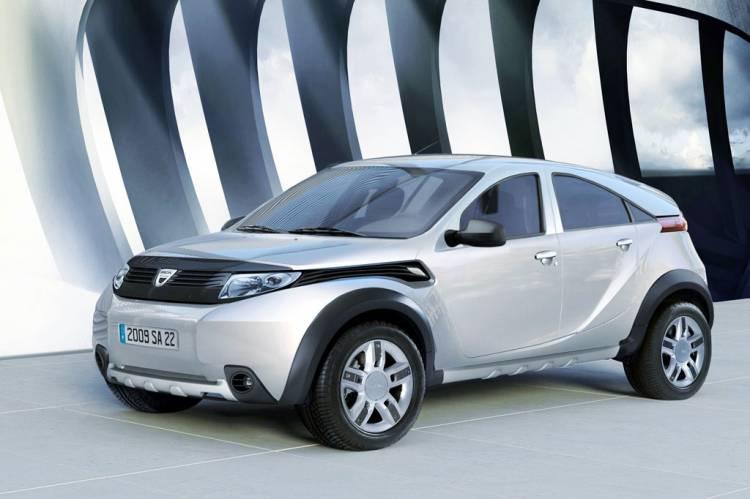 Dacia Duster de producción