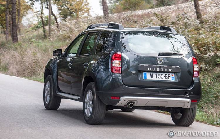 prueba de contacto del dacia duster 2014 con motor tce 125 qu ha cambiado diariomotor. Black Bedroom Furniture Sets. Home Design Ideas