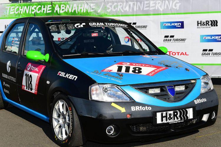 Dacia Logan Nurburgring 02