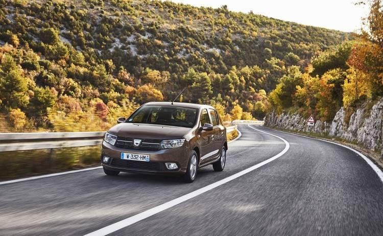 Dacia Sandero 2019 Marron Exterior 03