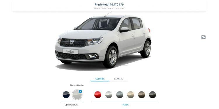 Dacia Sandero Diesel Mas Barato Comfort Blue Dci
