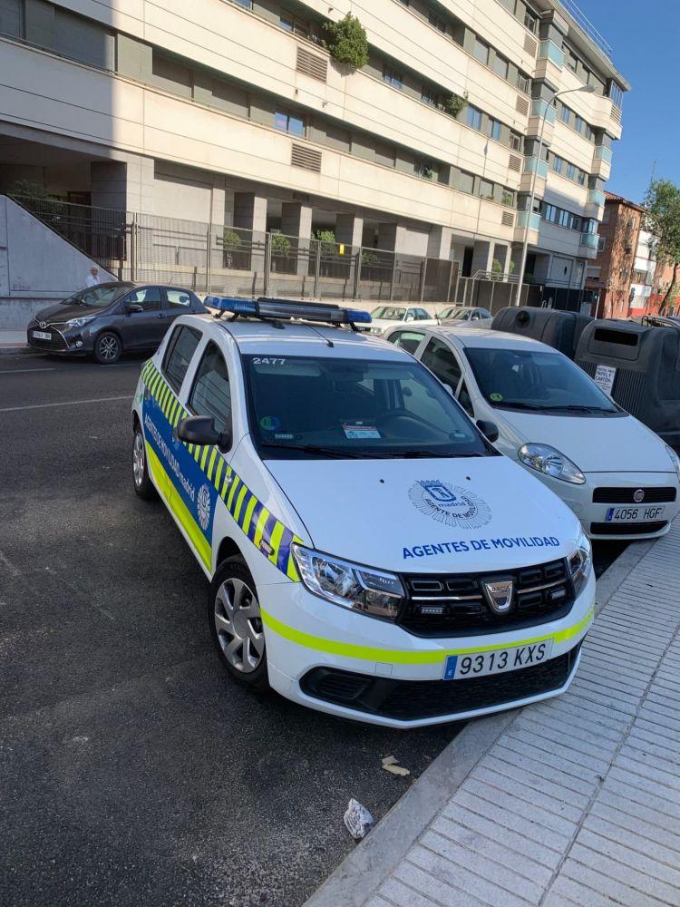 Dacia Sandero Policia Img 3199