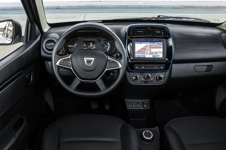 Dacia Spring 2021 0421 Interior Salpicadero Volante Pantalla 147