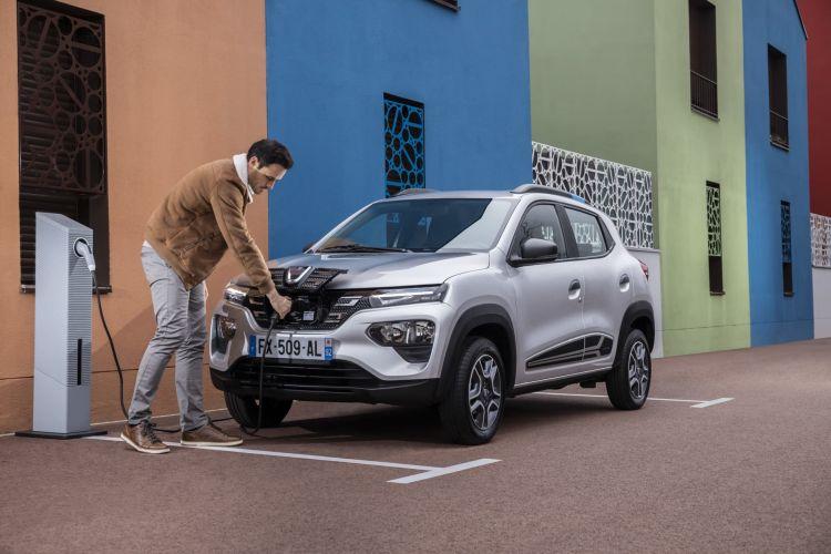 Dacia Spring 2021 Exterior Estatica Detalles Carga 02