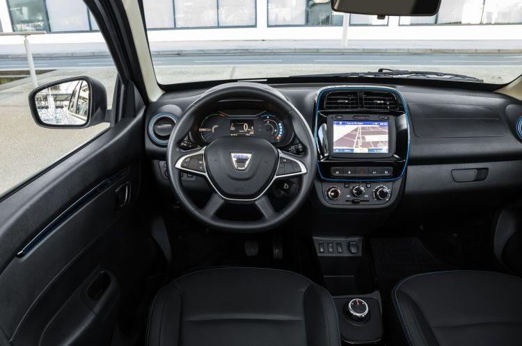 Dacia Spring 2021 Interior 01