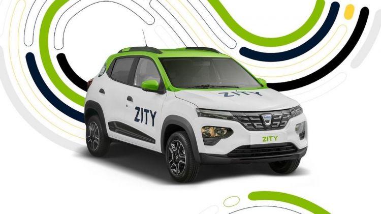 Dacia Spring Coche Compartido Zity 1