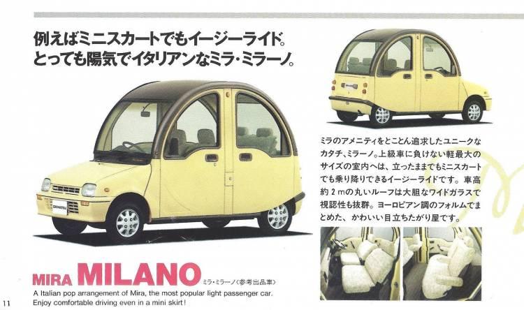 Daihatsu Mira Milano 2