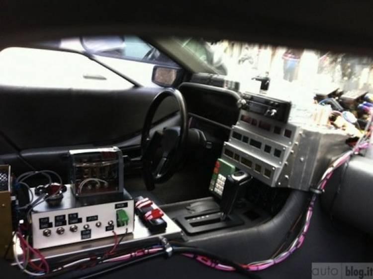 DeLorean DMC-12 eléctrico