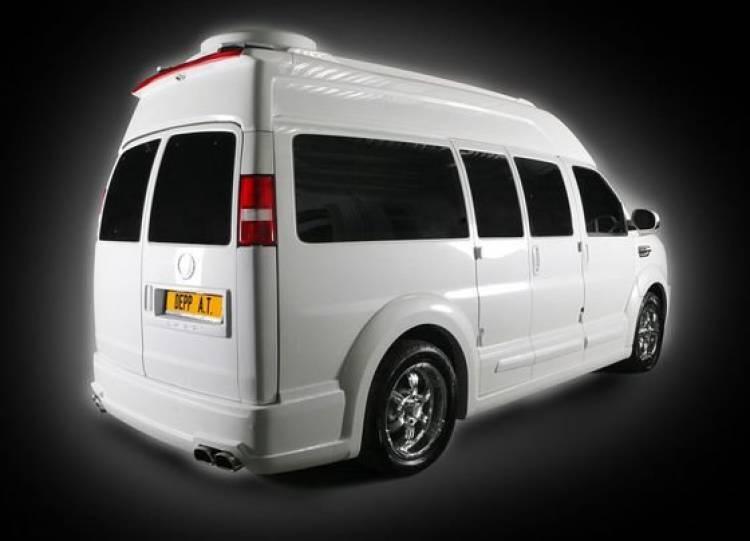 Depp Auto Tuning Chevrolet Express Platinum, exceso sobre cuatro ruedas