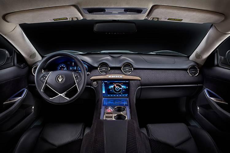 VL Automive Destino: la idea de un Fisker Karma V8 llegará a producción