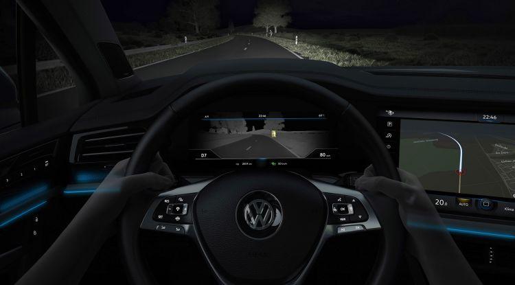 Dgt Multa Navegador Volkswagen Touareg Vision Nocturna