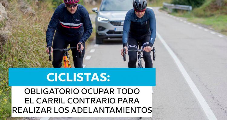 Dgt Reforma 2021 Adelantamientos Ciclistas