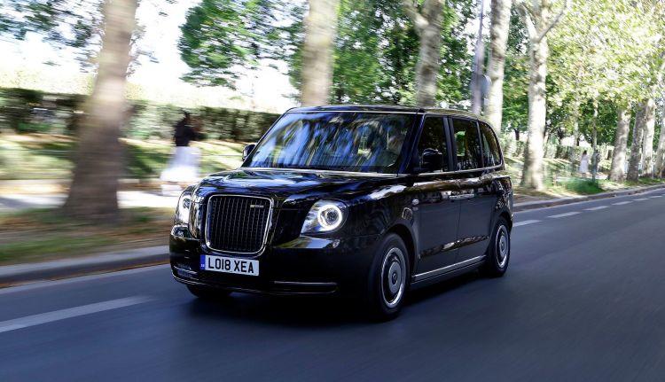 Diesel Gasolina 2035 Taxi Londres Negro