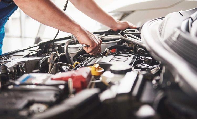 Diesel Humo Taller Motor